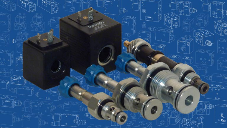 Electrically operated cartridge valves