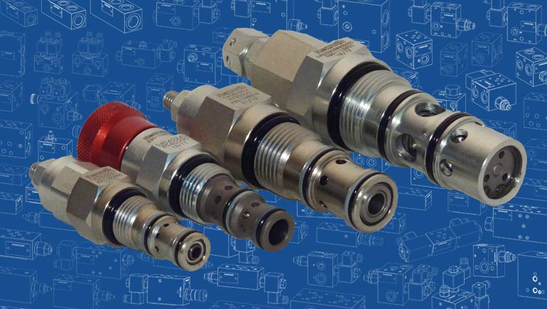 Mechanical cartridge valves
